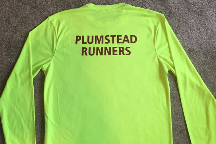 Fluoro long-sleeved shirt