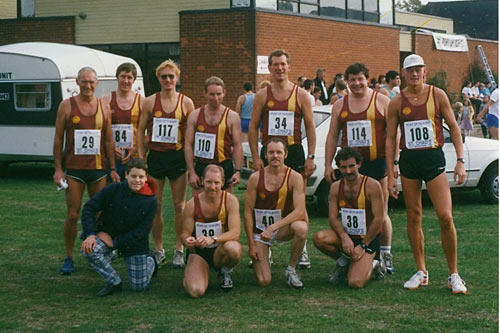 Plumstead Runners - Winning team at St. Chad's